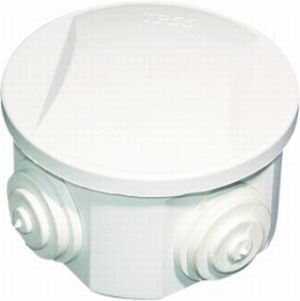 CJB65 - 65 x 35mm Circular junction box is IP44