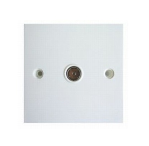Status Co-axial Socket 1 and 2 Gang