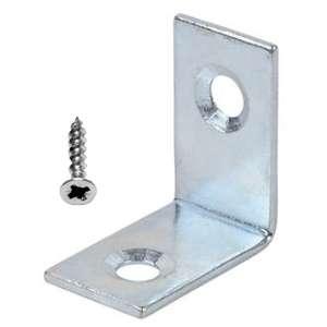 Corner Fixing Braces  Zinc Plated 25mm