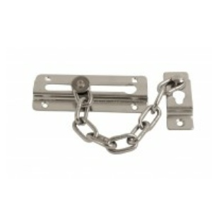 Door Security Chain Chrome Plated