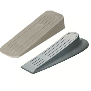 Door Wedges Rubber & Plastic Grey