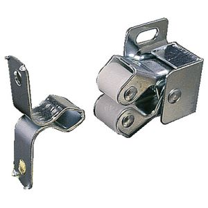 PRO35003 - 2 x Spring Double Roller Cupboard Catches with screws
