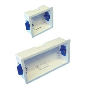 Powermaster Dry Lining Back Box - 35mm - 1 & 2 gang