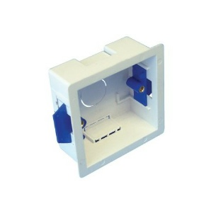 Electrical Dry Lining Back Box Stud or Hollow wall - 35mm - 1 gang