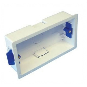 Electrical Dry Lining Back Box Stud or Hollow wall - 35mm - 2 gang