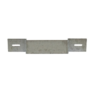 Timco Fencing Panel Concrete Post Fixing Bracket Galvanised - Pack of 2