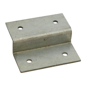 Timco Fencing Panel Z Clips Galvanised - Pack of 4