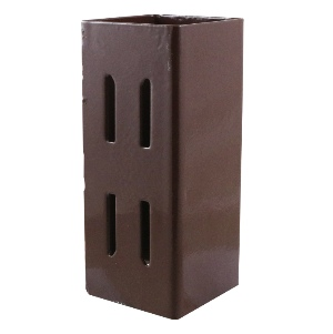 Fence Post Extender, Quick Fit Red Oxide -100mm