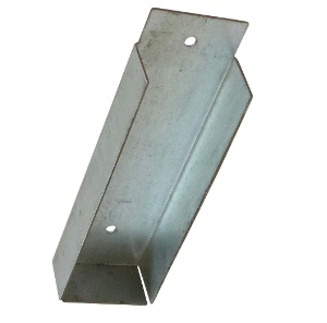 Timco Gravel Board Fixing Bracket Galvanised