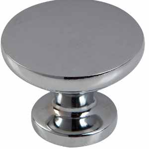 Classic Knob Polished Chrome 30mm and 38mm - Pack 1
