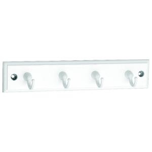 4  White Hook Key Tidy on White Board