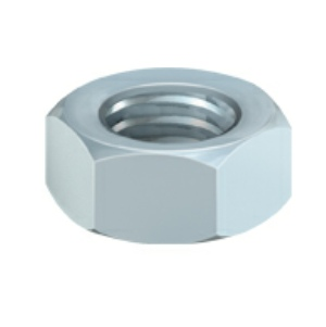 Timco Hexagon Full Nuts DIN934 Zinc Plated M4 - M12