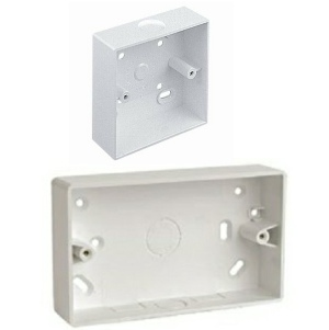 PVC Knockout Surface Mounted Back Box