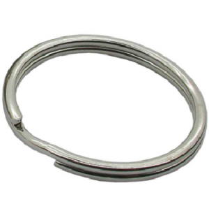 Split Rings Nickel Plated 25mm - Bag 20 and 100