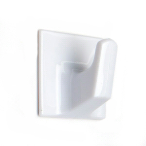PROSH340W - 10 x Self Adhesive Hooks Small White
