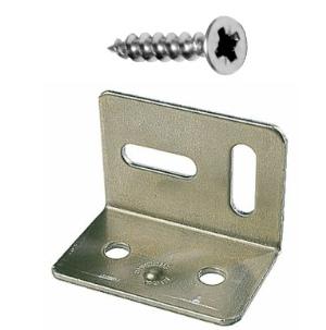 Stretcher Bracket 38mm Zinc Plated