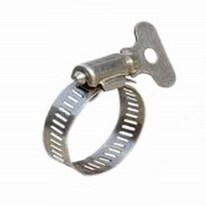 HC358 - 10 x 1/2 -3/4  Thumbscrew Hose Clips  sc 1 st  Diy4u & A range of zinc plated hose clamps with 7mm hex head and slotted for ...