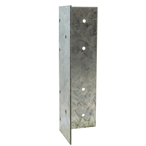 Timco Universal Fence Post Extender Galvanised