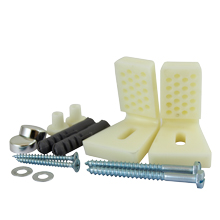 WC & Bidet Fixing Kits, For side mounting toilet pans & bidets to floors.